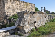 Temple with a podium in Diocaesarea