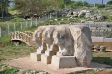 Three bulls monument in Eflatun Pınar