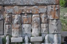 Eflatun Pınar - a detail of the main monument