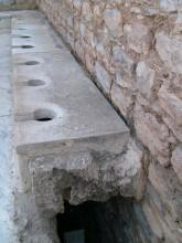 Public latrine in Ephesus
