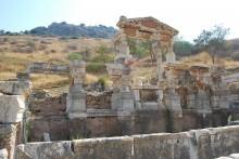 Trajan's Fountain in Ephesus