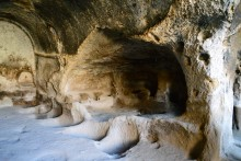 Guesthouses of the caravanserai, Gaziemir in Cappadocia