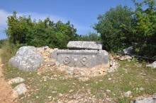 Işıkkale - a sarcophagus