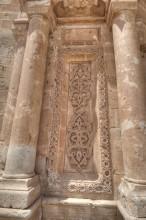 Ishak Pasha Palace - the entrance portal detail