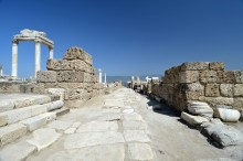 Syria Street in Laodicea on the Lycus