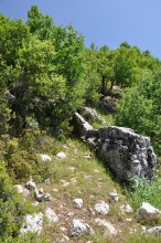 The path to the Acropolis of Olba