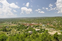 Panoramic view from the Acropolis of Olba