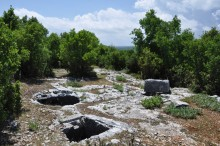 Water cisterns on the Acropolis of Olba