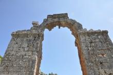 The aqueduct in Olba