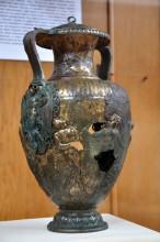 Bronze amphora from Parion - Çanakkale Archaeological Museum