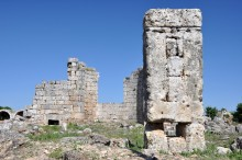 Basilica from the 6th century AD in Perge