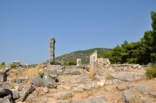 The Temple of Athena Polias in Priene