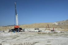 Excavations in Tripolis, September 2013