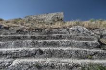 Van Fortress - stepped platform made in the Urartian era