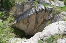 Huge water cisterns in Yazılıkaya