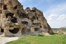 Kırkgöz Kayalıkları (i.e. the Rock of the Forty Eyes)