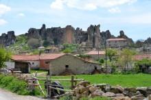 Yazılıkaya -  Midas Monument - as seen from the village