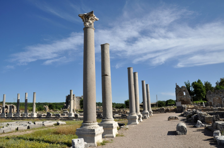 Colonnaded Street of Perge